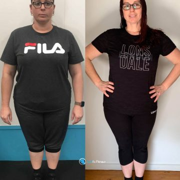 Katherine has dropped 16kg in 5 months